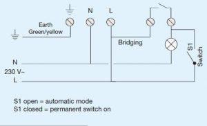 Cảm biến chuyển động gắn trần EE804 Hager