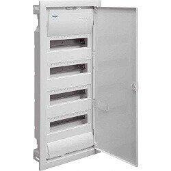 tủ điện âm tường 48 module cánh kinh loại hager