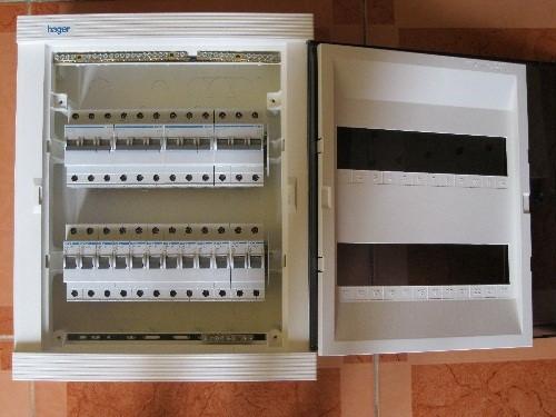 Tủ điện âm tường Hager chất lượng tốt - mẫu mã đẹp