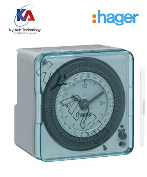 Timer 24h hager EH711